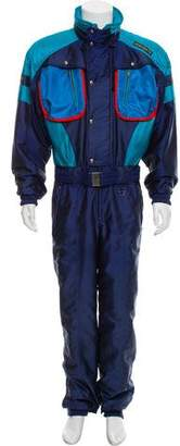 Descente Colorblock Snow Suit