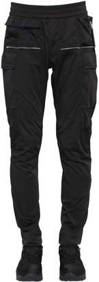 Multi Pocket Cotton Cargo Pants