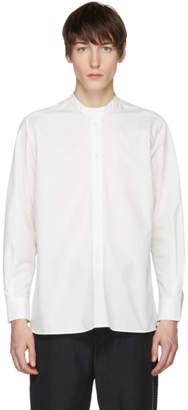 Studio Nicholson Ivory Cube Click Half Placket Shirt