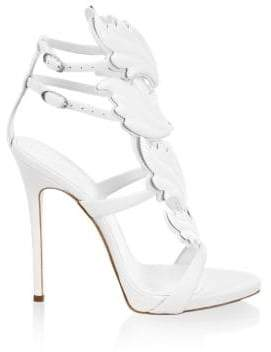 Giuseppe Zanotti Double-Strap Leather Sandals