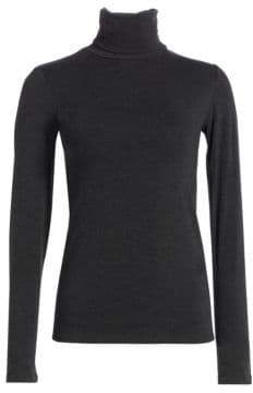 Majestic Filatures Soft Touch Turtleneck Top