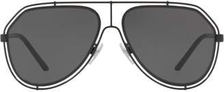 Dolce & Gabbana Eyewear wire aviators