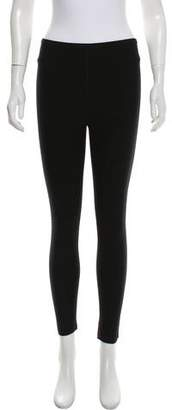 Alaia Mesh-Accented Wool Leggings w/ Tags