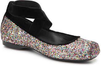 Jessica Simpson Mandalaye Ballet Flat -Multicolor Glitter - Women's