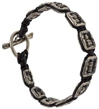 Tobias Wistisen framed skull bracelet