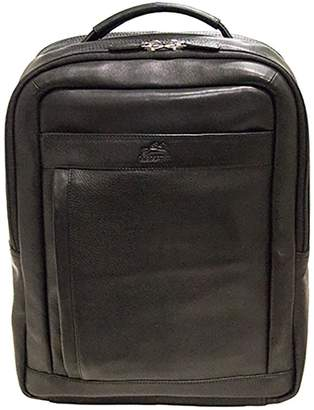 "Mancini Leather Goods Columbian 15.6"" Laptop/Tablet Backpack"