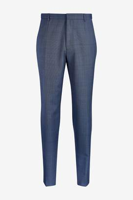 Mens HUGO Blue Hets Suit Trouser