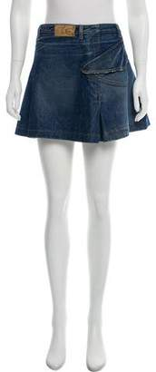 Just Cavalli Denim Mini Skirt