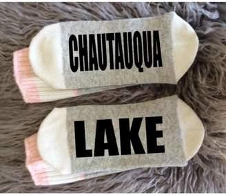 Local Artist Chautauqua Lake Socks