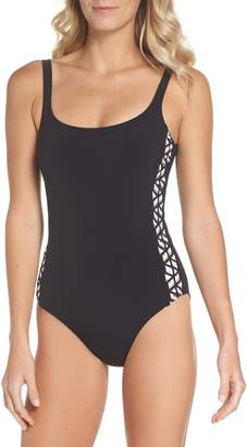 Gottex Profile By Round Neck One-Piece Swimsuit