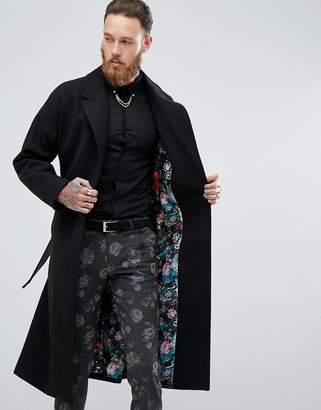 Blend of America Devils Advocate Premium Wool Blend Duster Coat