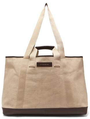 WANT Les Essentiels Grantley Canvas Weekend Tote Bag - Mens - Beige f6a1374a3613f