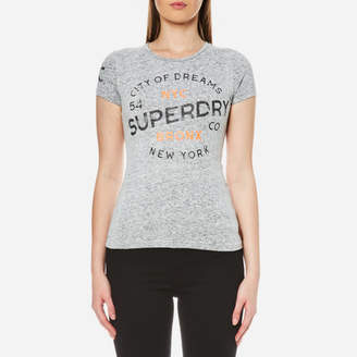 Superdry Women's City of Dreams T-Shirt