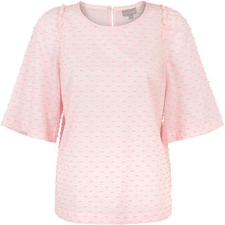 Oliver Bonas The Woven Truth Pink Top