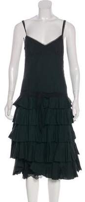 Marc Jacobs Sleeveless Midi Dress Black Sleeveless Midi Dress