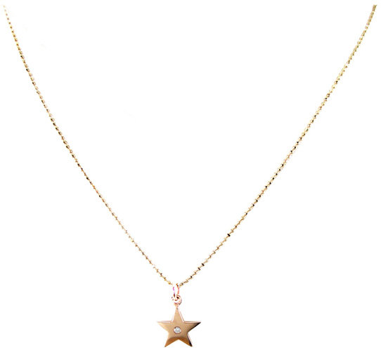 Zoe Chicco Star Diamond Necklace