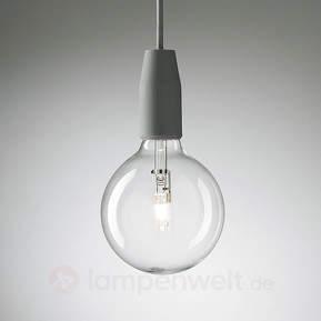 Minimalistische Wandlampe Multiplo in Grau