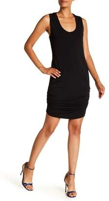 Rachel Roy Ruched Side Solid Dress
