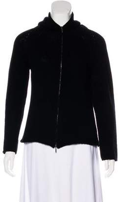 Max Mara 'S Wool and Cashmere Cardigan