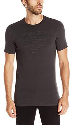 Armani Jeans Men's Made in Italy Eagle T-Shirt