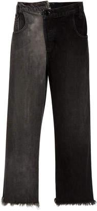 Monse Split Wash Cropped Jean