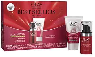 Olay Regenerist Best Sellers Face Cleanser and Moisturizer Regimen Kit