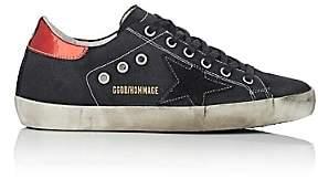 Golden Goose Women's Superstar Canvas Sneakers-Black