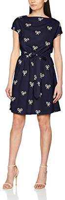 PepaLoves Women's Rackets Navy Casual Dress
