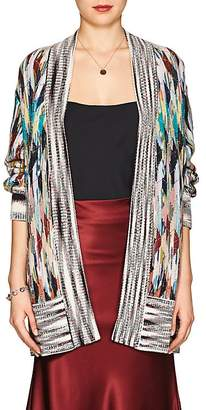 Missoni Women's Diamond-Pattern Wool-Blend Cardigan