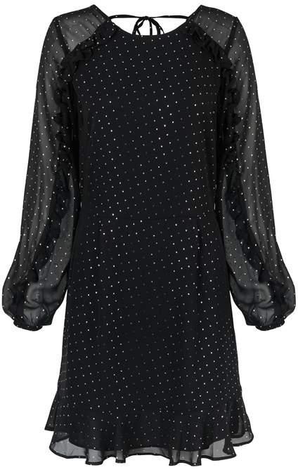 Star Foil Mini Dress