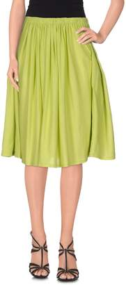 Fabrizio Del Carlo Knee length skirts - Item 35306572RS