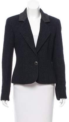 Chanel Notch-Lapel Tweed Jacket