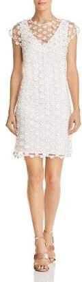 Nanette Lepore nanette Floral-Appliqué Shift Dress