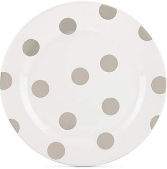 Kate Spade All in Good Taste Deco Dot 4-Pc. Beige Salad Plate Set