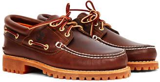 Timberland Lug Boat Shoes Brown