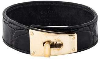 Gucci Leather Bracelet