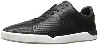 HUGO BOSS Boss Orange Men's Stillness Perforated Leather Fashion Sneaker