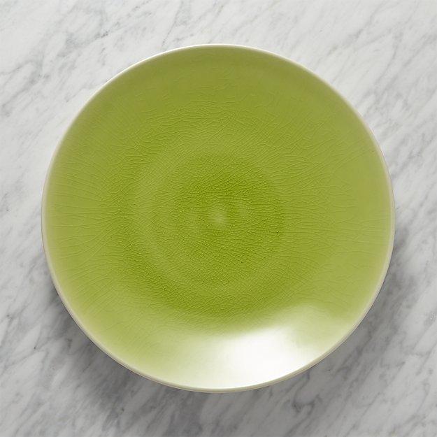 Crate & BarrelJars Tourron Green Platter