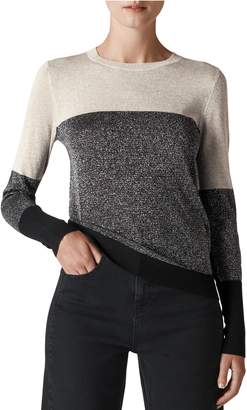 Whistles Colorblock Sparkle Sweater
