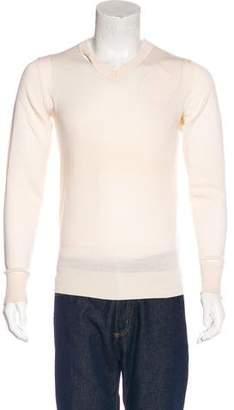 Kris Van Assche Wool V-Neck Sweater