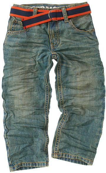 Gymboree Stripe Belted Jean