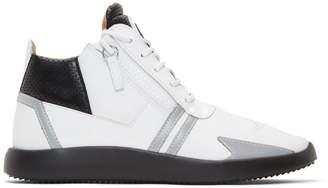 Giuseppe Zanotti White Ulan Sneakers