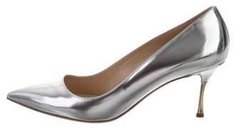 Nicholas Kirkwood Metallic Pointed-Toe Pumps