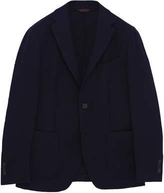 Altea Virgin wool knit soft blazer