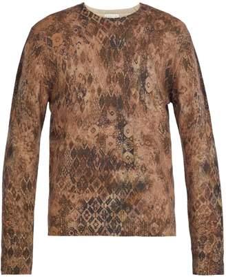 Etro Vintage-print wool sweater
