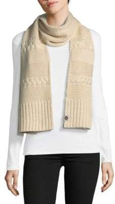 UGG Knit Cable Scarf