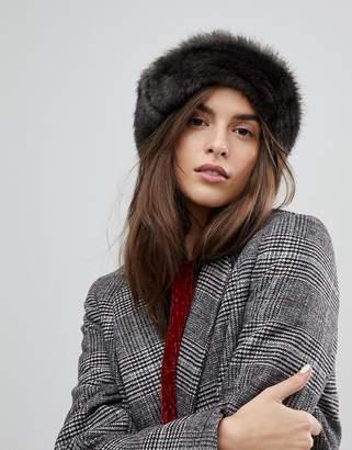 Brixton Hat With Faux Fur Trim