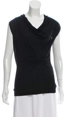 Derek Lam Sleeveless Silk-Cashmere Sweater