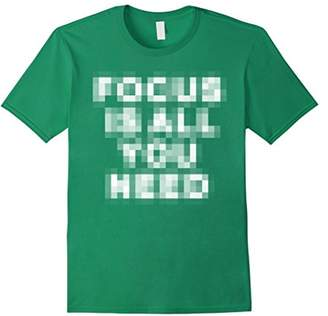Pixelated Shirt Focus Is All You Need Camera Lovers Gifts
