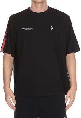 Marcelo Burlon County of Milan Wings Barcode T-shirt